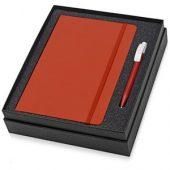 Набор Uma Vision с ручкой и блокнотом А5, красный, арт. 015525003