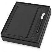 Набор Uma Vision с ручкой и блокнотом А5, черный, арт. 015525203