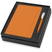 Набор Uma Vision с ручкой и блокнотом А5, оранжевый, арт. 015525103