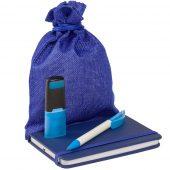 Подарочный мешок Foster Thank, M, синий