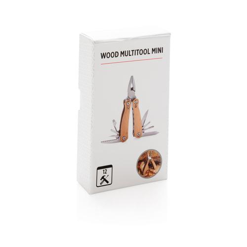 Мини-мультитул Wood, коричневый, арт. 015562106