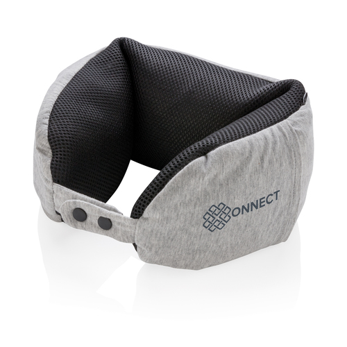 Роскошная подушка для путешествий Microbead, серый, арт. 015563606