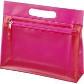 Прозрачная косметичка Paulo, розовый, арт. 015575403