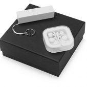 Подарочный набор Non-stop music с наушниками и зарядным устройством, белый, арт. 015631903