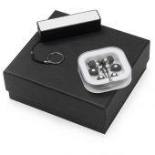 Подарочный набор Non-stop music с наушниками и зарядным устройством, черный, арт. 015631703