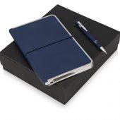 Подарочный набор Silver Sway с ручкой и блокнотом А5, синий, арт. 015630403