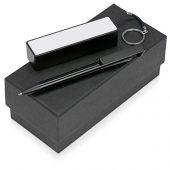Подарочный набор Kepler с ручкой-подставкой и зарядным устройством, черный, арт. 015631303