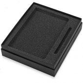 Подарочный набор Vision Pro soft-touch с ручкой и блокнотом А5, черный, арт. 015573803