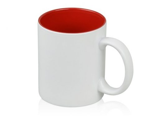 Кружка с покрытием для гравировки «Subcolor W», белый/красный, арт. 015621003
