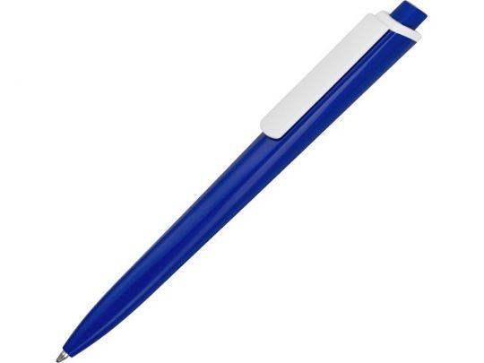 Ручка пластиковая трехгранная шариковая «Lateen», синий/белый, арт. 015664303
