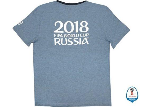Футболка 2018 FIFA World Cup Russia™ мужская, голубой/черный (2XL), арт. 015680203