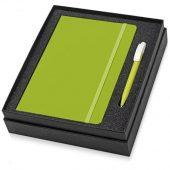 Подарочный набор Uma Vision с ручкой и блокнотом А5, зеленый, арт. 015665103