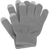 Перчатки для сенсорного экрана, серый, размер S/M (S/M), арт. 015678803