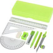 Школьный набор для геометрии Julia из 9 предметов, зеленый, арт. 015752703
