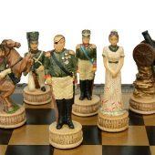 Шахматы Бородино, черный/зеленый, арт. 015718303