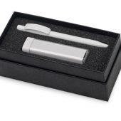 Подарочный набор White top с ручкой и зарядным устройством, белый, арт. 016345003