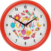 Часы настенные разборные Idea, красный, арт. 016468903