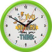 Часы настенные разборные Idea, салатовый, арт. 016469303