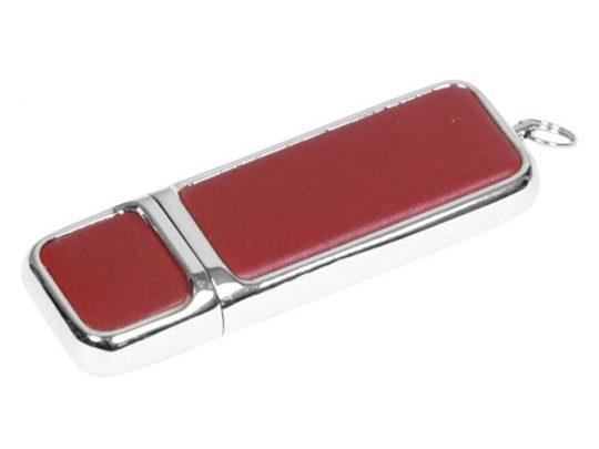 Флешка компактной формы, 16 Гб, коричневый/серебристый (16Gb), арт. 016498703