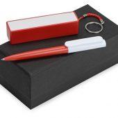 Подарочный набор Essentials Umbo с ручкой и зарядным устройством, красный, арт. 016609603