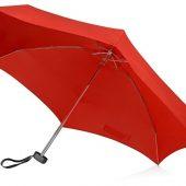 Зонт складной Frisco, механический, 5 сложений, в футляре, красный, арт. 016468503
