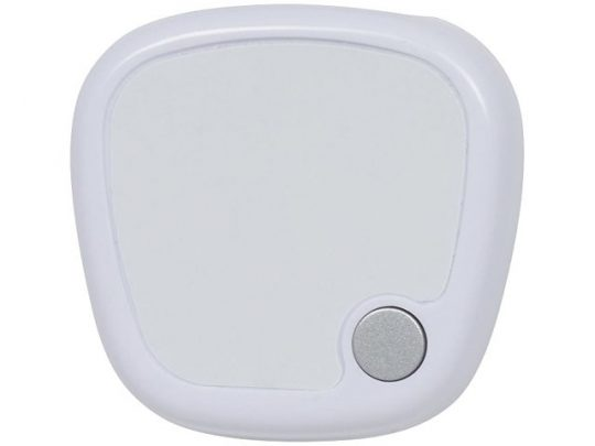 Трекинговый шагомер с экраном LCD, белый, арт. 016666503