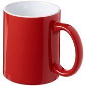Керамическая кружка Java, красный/белый, арт. 016667503