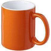 Керамическая кружка Java, оранжевый/белый, арт. 016667703