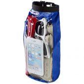 Туристическая водонепроницаемая сумка объемом 2 л, чехол для телефона, ярко-синий, арт. 016674003