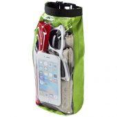 Туристическая водонепроницаемая сумка объемом 2 л, чехол для телефона, лайм, арт. 016674303