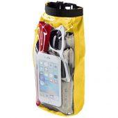 Туристическая водонепроницаемая сумка объемом 2 л, чехол для телефона, желтый, арт. 016674503