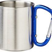 Термокружка с ручкой-карабином Alps 200мл, синий, арт. 016666203