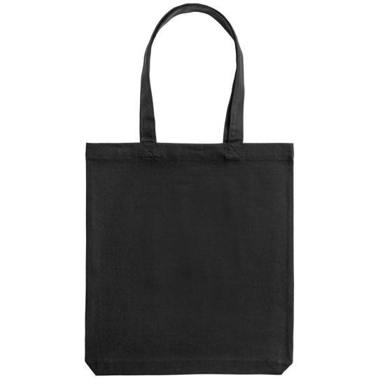 Холщовая сумка «Ваще огонь», черная