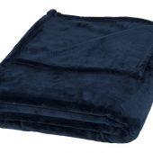 Негабаритный ультра-плюшевый плед Mollis, темно-синий, арт. 016680503