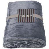 Негабаритный ультра-плюшевый плед Mollis, серый, арт. 016680403