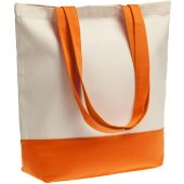 Холщовая сумка Shopaholic, оранжевая