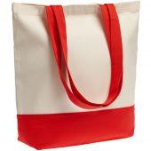 Холщовая сумка Shopaholic, красная