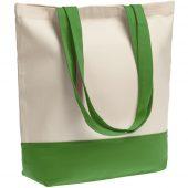 Холщовая сумка Shopaholic, ярко-зеленая