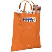 Складная сумка Maple из нетканого материала, оранжевый, арт. 016850603