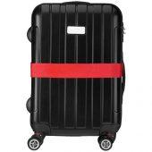 Багажный ремень, красный, арт. 016852903