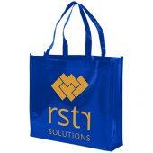 Блестящая ламинированная нетканая сумка-тоут для покупок, арт. 016855403