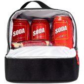 Двойная сумка-холодильник для ланчей, серый/черный, арт. 016857003