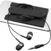 Проводные наушники и силиконовый бумажник для телефона, арт. 016811103