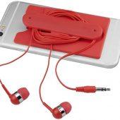 Проводные наушники и силиконовый бумажник для телефона, арт. 016811503
