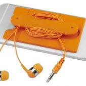 Проводные наушники и силиконовый бумажник для телефона, арт. 016811603