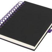 Блокнот Wiro, черный/пурпурный (А5), арт. 016884903