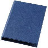 Небольшой комбинированный блокнот, синий, арт. 016888103