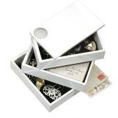 Шкатулка Spindle, белый, арт. 016738403