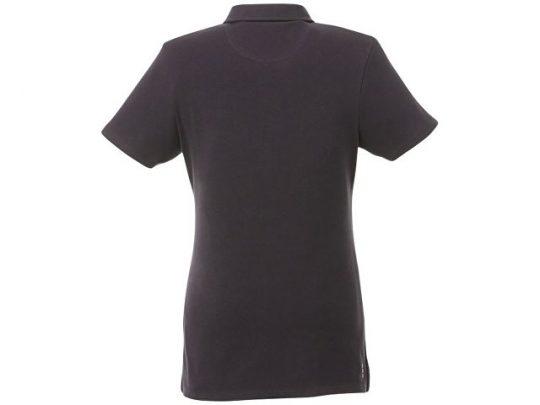 Женская футболка поло Atkinson с коротким рукавом и пуговицами, серый графитовый (M), арт. 016787303