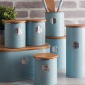 Емкость для хранения сахара Living, голубая